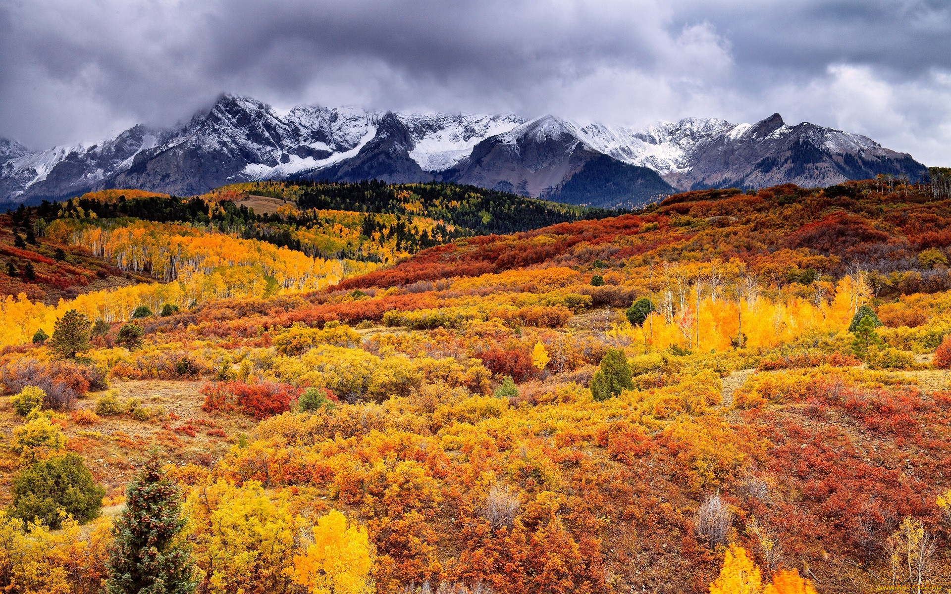 Картинки осень природа горы